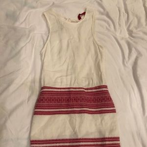Tigerlily Minidress with red patterning